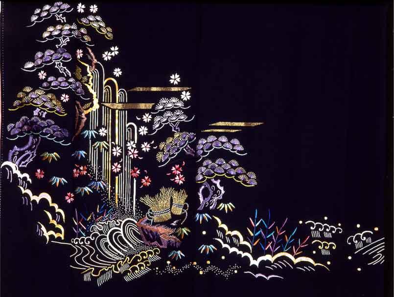 """1976 """"Matsu ni Taki - Pine and Waterfall"""""""
