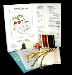 Learn silk shading embroidery