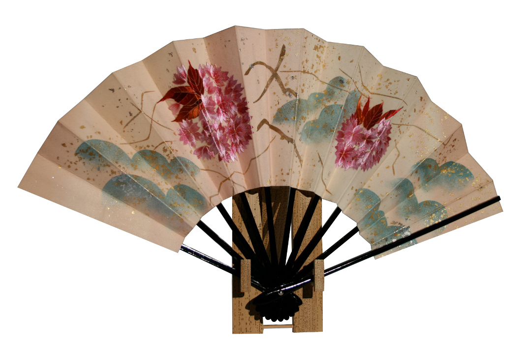 "2007 ""Fan - Double Cherry Blossom"""